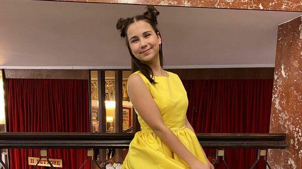 Ксения Галецкая стала победителем международного фестиваля SanRemo Junior - Sputnik Беларусь