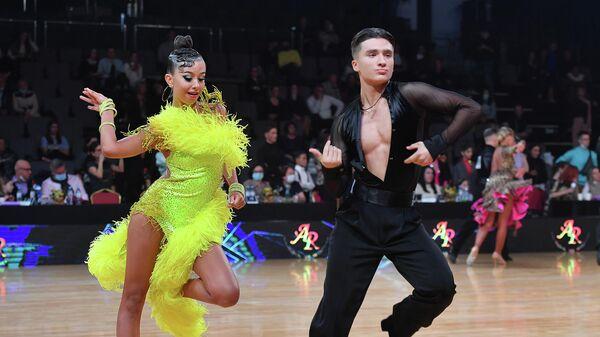 Спаборніцтвы па спартыўных бальных танцах Capital Cup Minsk 2021 - Sputnik Беларусь