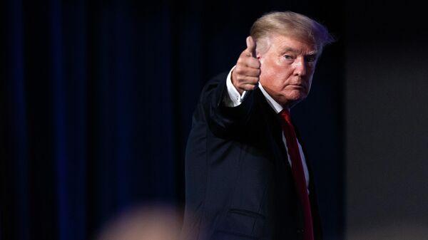 Бывший президент США Дональд Трам - Sputnik Беларусь