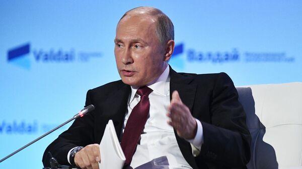 LIVE: Путин выступает на пленарном заседании Валдайского дискуссионного клуба - Sputnik Беларусь