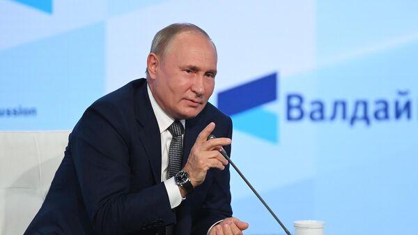 О чем говорил Путин на Валдае: эксперт о консерваторах-оптимистах и будущем РФ - Sputnik Беларусь