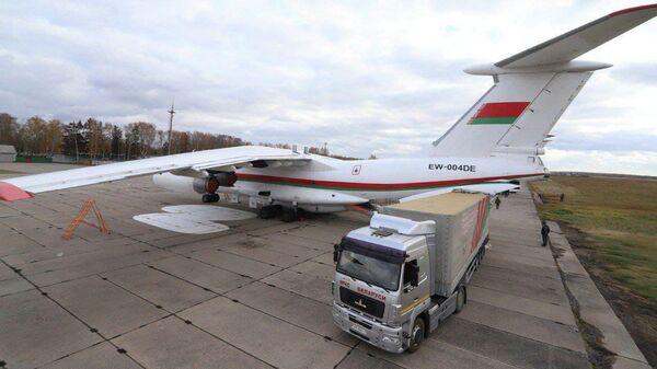 Гуманитарная помощь из Беларуси в Таджикистан - Sputnik Беларусь
