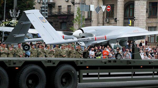 Ці чакае Украіну вайна дронаў? Эксперт аб удары беспілотніка па Данбасе - Sputnik Беларусь