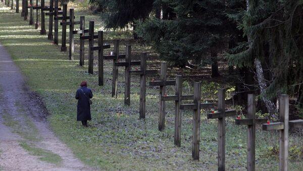 Урочышча Курапаты, дзе знаходзяцца пахаванні ахвяр палітычных рэпрэсій - Sputnik Беларусь