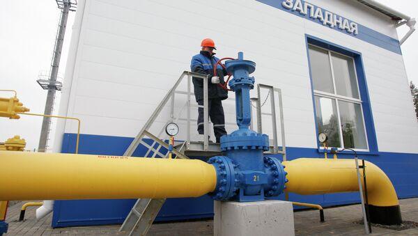 Запуск ГРС Западная ОАО Газпром в Беларуси - Sputnik Беларусь