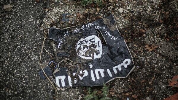 Флаг радикальной исламистской организации Исламское государство Ирака и Леванта - Sputnik Беларусь