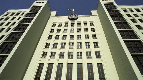 Дом Урада Рэспублікі Беларусь - Sputnik Беларусь