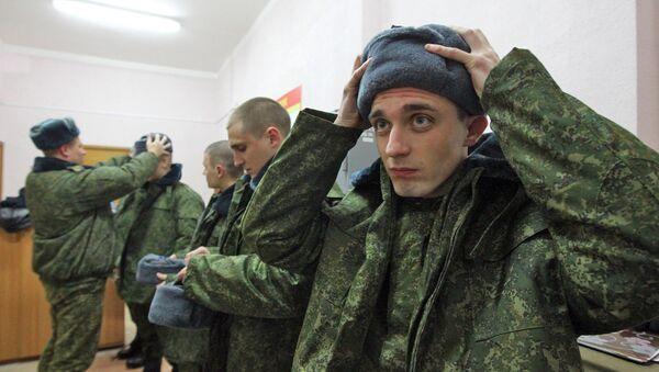Отправка молодого пополнения в войска продлится до 28 ноября - Sputnik Беларусь