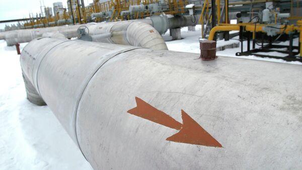 Участок компрессорной станции ОАО Газпром - Sputnik Беларусь