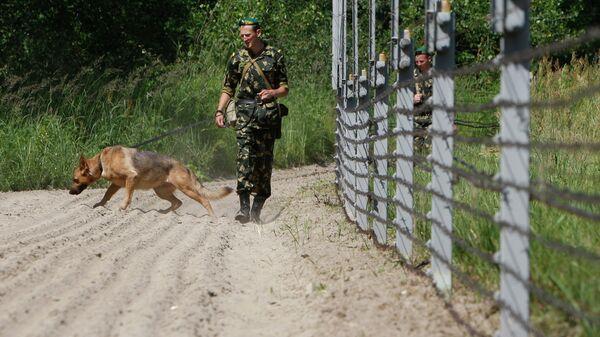 Белорусские пограничники - Sputnik Беларусь