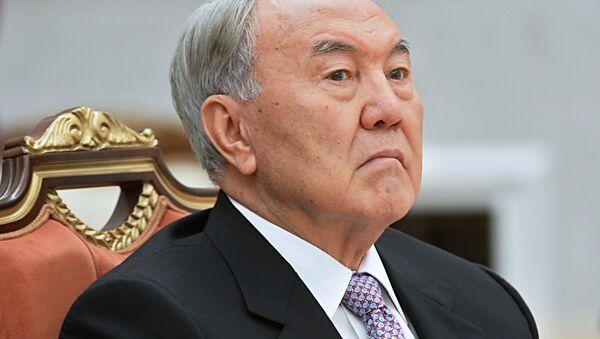 Президент Казахстана Нурсултан Назарбаев - Sputnik Беларусь