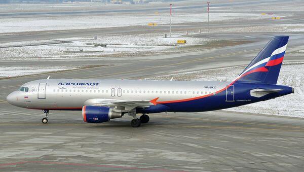 Самалёт А320 авіякампаніі Аэрафлот - Sputnik Беларусь