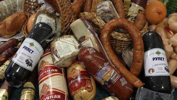 Продукция Брестского мясокомбината, архивное фото - Sputnik Беларусь