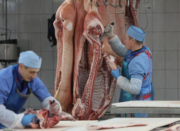 Брестский мясокомбинат, мясо-жировой цех - Sputnik Беларусь