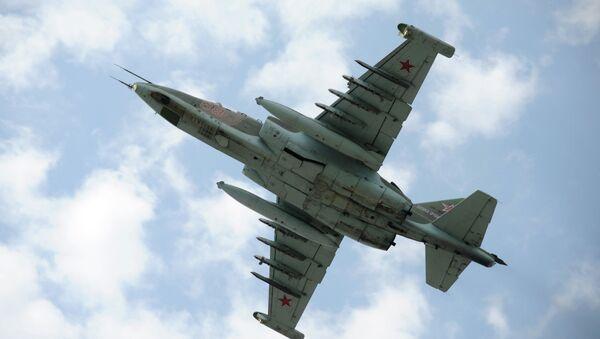 Штурмовик Су-25, архивное фото - Sputnik Беларусь