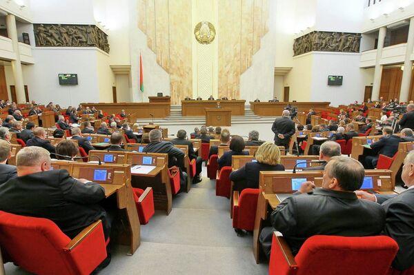 В Овальном зале белорусского парламента, архивное фото - Sputnik Беларусь