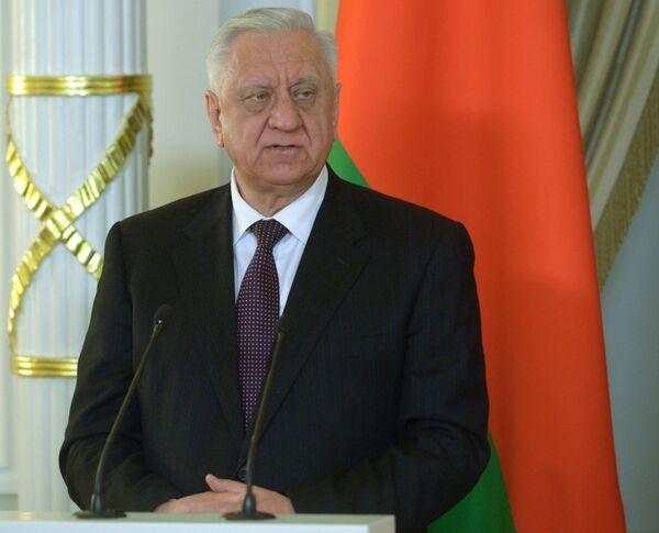 Премьер-министр Беларуси Михаил Мясникович, архивное фото - Sputnik Беларусь