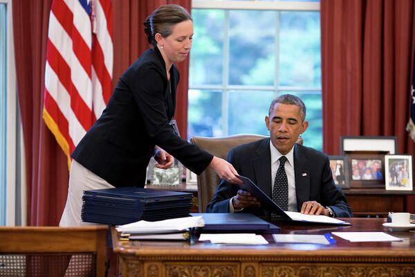 Президент США Барак Обама - Sputnik Беларусь