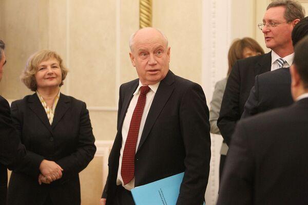 Исполнительный секретарь СНГ Сергей Лебедев на заседании Совета постоянных полномочных представителей государств - Sputnik Беларусь