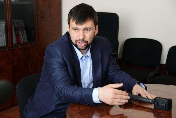 Зампред Народного совета ДНР Денис Пушилин - Sputnik Беларусь