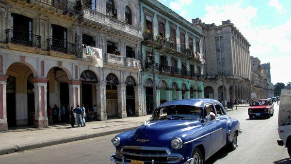 На улице Гаваны, архивное фото - Sputnik Беларусь