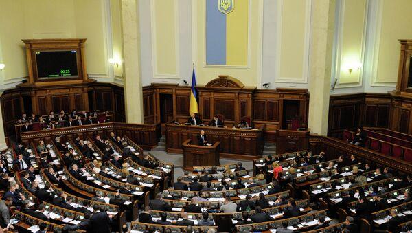 Заседание Верховной Рады Украины - Sputnik Беларусь