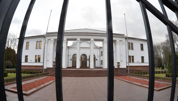 Правительственная резиденция на Войсковом переулке - Sputnik Беларусь