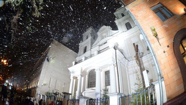 Рождество в архикафедральном соборе Имени Пресвятой Девы Марии - Sputnik Беларусь