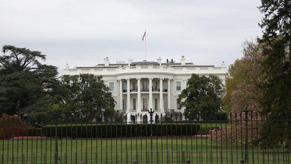 Вид на здание Белого дома в Вашингтоне - Sputnik Беларусь