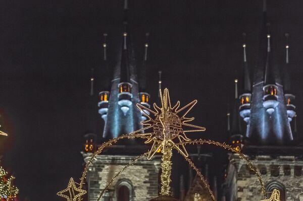 Новогодняя Прага: уличные ярмарки, снег, огни - Sputnik Беларусь