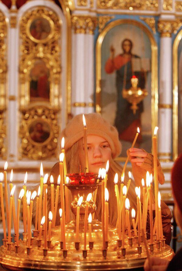 Празднование Рождества Христова в Минске - Sputnik Беларусь