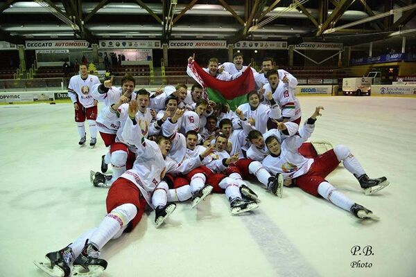 Молодежная сборная Беларуси по хоккею (U-20) - Sputnik Беларусь