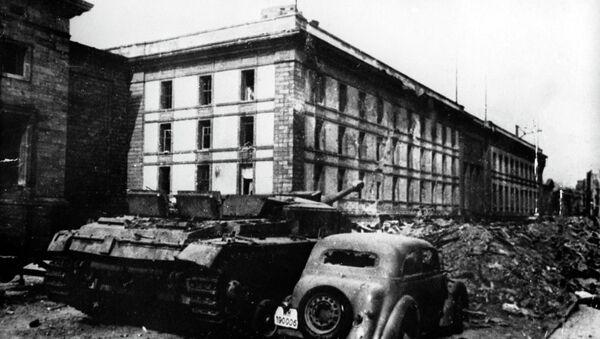 Здание имперской канцелярии в Берлине, архивное фото - Sputnik Беларусь