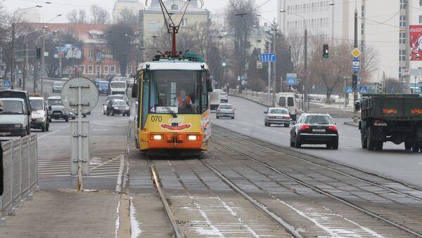 Трамвай в Минске, архивное фото - Sputnik Беларусь