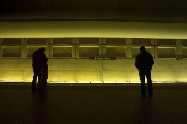 Станция метро Ленфан плаза в Вашингтоне - Sputnik Беларусь