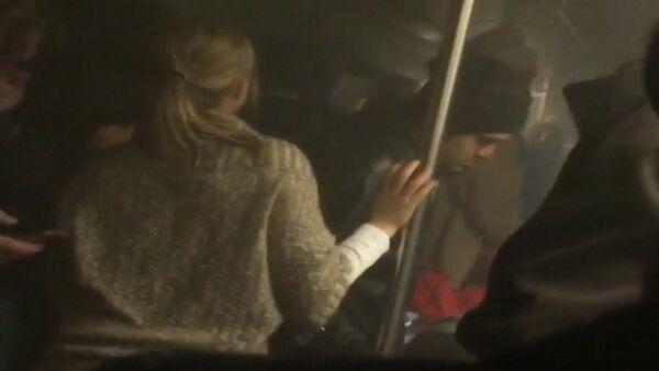 Пассажир снял на камеру, что происходило в метро Вашингтона во время ЧП - Sputnik Беларусь