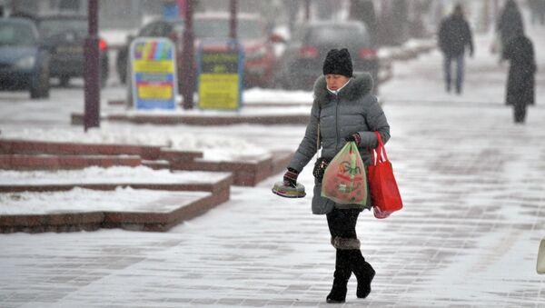 Зима в Минске - Sputnik Беларусь