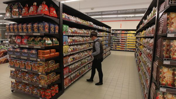 В белорусском гипермаркете - Sputnik Беларусь
