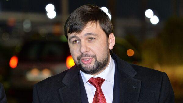 Полномочный представитель ДНР Денис Пушилин - Sputnik Беларусь