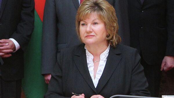 Министр информации Беларуси Лилия Ананич, архивное фото - Sputnik Беларусь