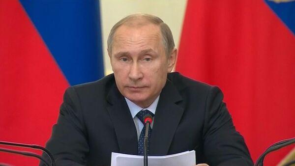 Президент России Владимир Путин, архивное фото - Sputnik Беларусь