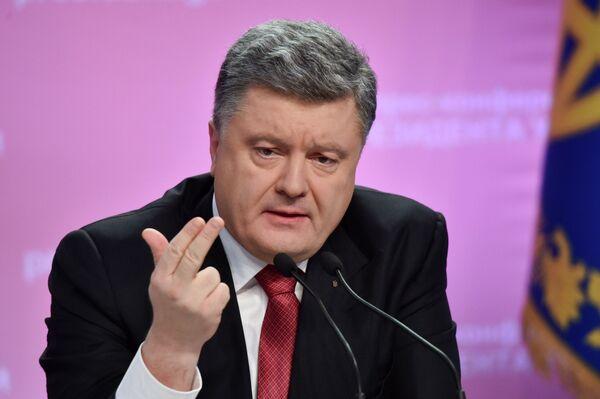 Петр Порошенко,  архивное   фото - Sputnik Беларусь