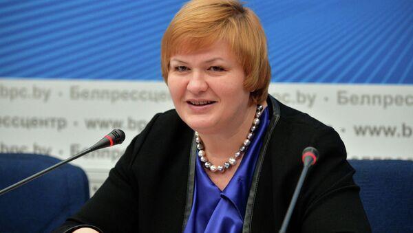 Намеснік міністра гандлю Ірына Наркевіч - Sputnik Беларусь