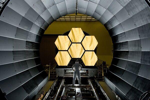 Зеркала космического телескопа - Sputnik Беларусь