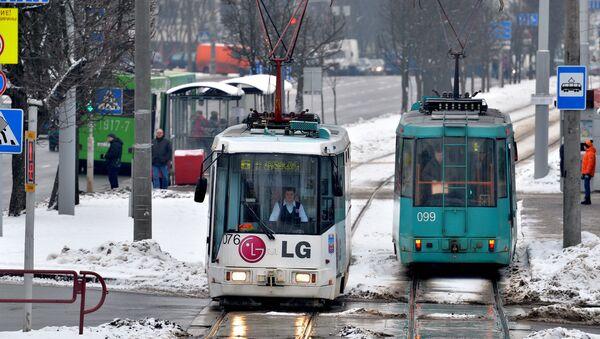 Трамвайны рух у Мінску - Sputnik Беларусь