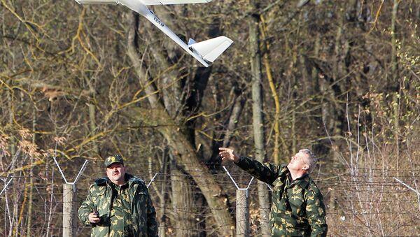 Беспилотный летательный аппарат для мониторинга обстановки на белорусско-польской границе - Sputnik Беларусь