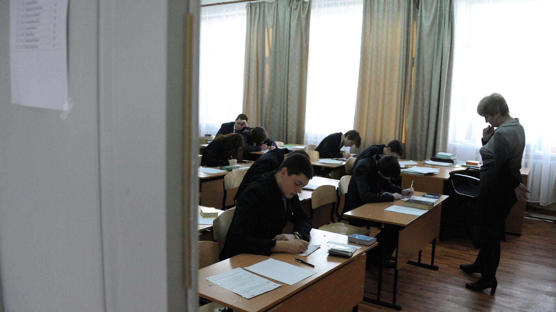 Экзамены в школе - Sputnik Беларусь, 1920, 02.08.2021