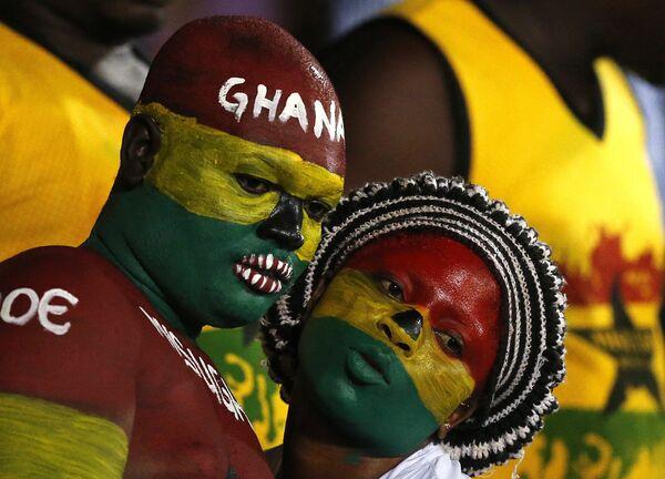 Болельщики сборной Ганы на Кубке африканских наций - Sputnik Беларусь