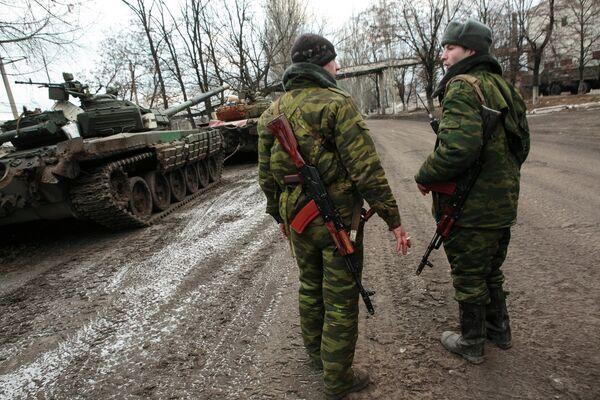 Ополченцы ДНР, архивное фото - Sputnik Беларусь