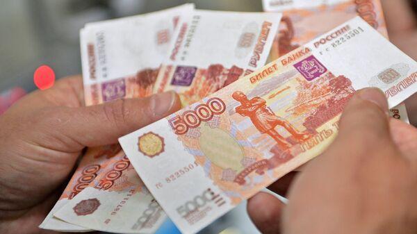 Расійскія рублі - Sputnik Беларусь